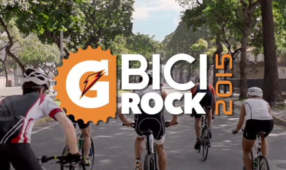Gatorade - Bici Rock 2015